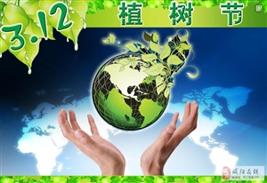 【3月12日话题】植树节,我为绿色出份力!