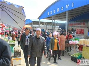 永兴综合市场,龙山商贸繁荣的领头兵