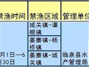 """临泉这几条河将禁止""""逮鱼""""!最高罚款5万元!!"""