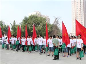 无极县2017年征兵宣传活动
