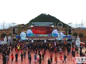 曝光:苍溪梨花节开幕前的主会场【航拍图】