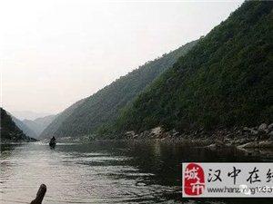 引汉济渭的黄金峡