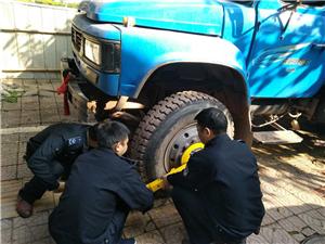 广安区城管执法局重拳出击:全面开展扬尘污染专项整治行动