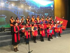 通许县影剧院举行万人读中国活动