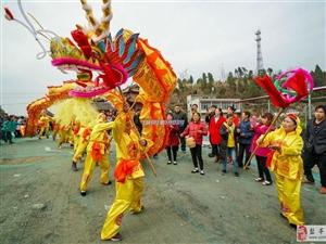 """二月二!三台县老马群众欢庆""""龙头节"""""""