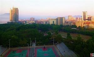 清晨的山城