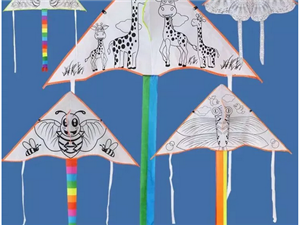 春意盎然!周末带着宝宝来【建国门】彩绘风筝吧!