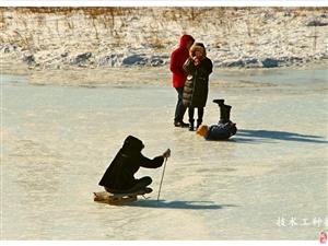 随手拍:冰趣――溜冰车