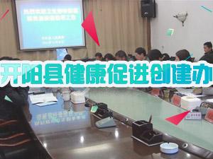 开阳县健康促进创建办