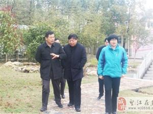 市人力资源和社会保障局领导到安庆皖江中等专业学校调研