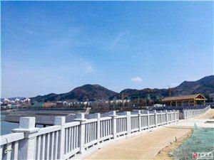 栾川的水系工程真漂亮!
