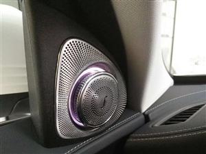 新款18款S350 S320改柏林之声音响 电动尾门 一脚踢旋转高音头