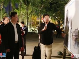 丁晖市长一行夜间调研三角池项目