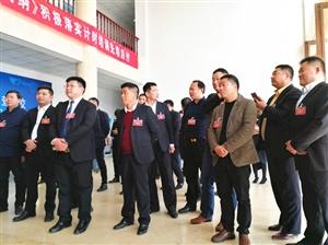 """驻马店青商会10余家会员单位来遂平调研,结合""""两会""""精神共谋发展思路"""