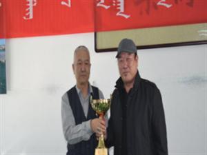 正蓝旗老年台球协会举办2017年度台球协会月赛总结仪式
