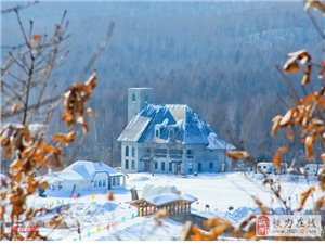 《雪后初霁》一一桃源湖掠影