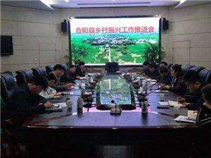合阳县召开乡村振兴工作会