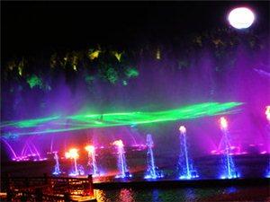 南充市人口大县南部县,城市夜景也很迷人!
