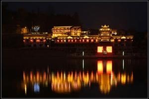 距离西安仅500公里的中国风水第一古城阆中