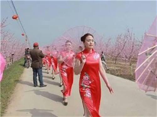 河南叶县首届燕山湖桃花节暨2018赏花季正式拉开帷幕。