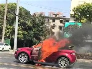 太恶劣!男子逼停前女友的路虎后点燃汽油,两人双双被烧身亡