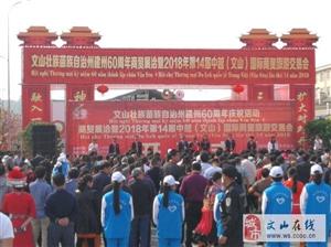 第十四届中越(文山)国际商贸旅游交易会开幕