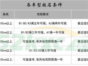 广东河源学大车增驾A1A2大客拖头 拿证快