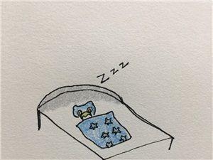 #漫画#为什么周末总是醒得这么早?