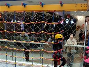 儿童娱乐~小勇士儿童攀爬拓展乐园于4月3日隆重开业啦(图片)