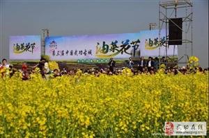 《金色花海  醉美古城》第三届武功油菜花节――党小成