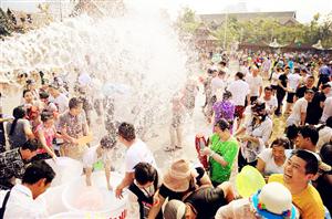 版纳告庄西双景泼水节系列活动邀你体验狂欢盛宴