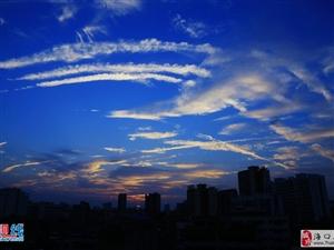 椰城今日夕阳无限好