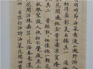 【有邰书院】自撰《油菜花开》打油诗四首――徐锋