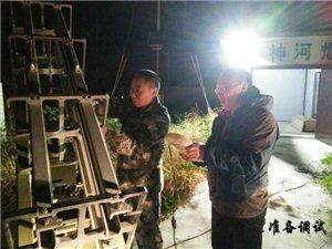 旬阳:清明节人工增雨,有效缓解旱情