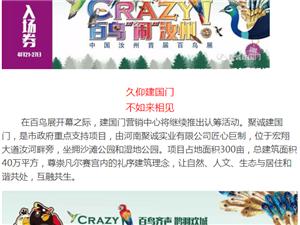 【 聚诚建国门】全汝州您有【中国汝州首届百鸟展】邀请函 请查收!