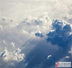 乌云遮住了天空,也挡不住阳光照耀德令哈