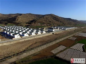 航拍川王海湾村,一个并没有海的村庄。