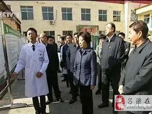 国务院副总理孙春兰在吕梁调研