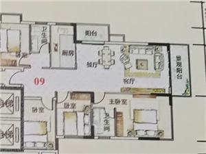 新城区水贝家和滨江御景4房可看江景售77.6万