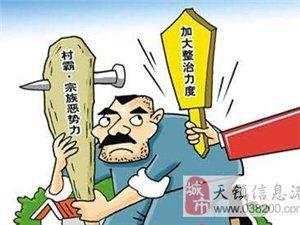 天镇县公安局成功打掉一村霸宗族恶势力团伙