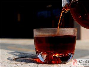 喝杯熟茶,春天暖暖的
