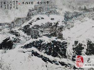 【巴彦网】著名画家巴彦人王心元-沁彩山水画