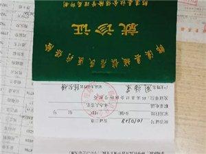 失物招领:今拾到周福荣,史典军的居民医疗保险就诊证,请带身份证到住院部