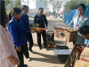 宝丰县强化市容环境管理着力维护街面秩序
