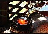 一杯暖暖的熟茶,享受暖暖的春意
