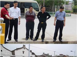 副县长、公安局长杨建宇带队督查城乡卫生综合整治工作