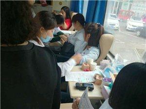 阜城县盐百员工积极参加无偿献血活动