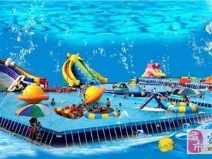 充气式水上乐园冲击着整个夏季