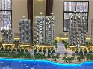 新城区西岸悦湾一线江景房4房售95.31万