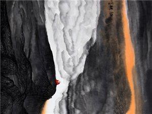 墨玉透翡——张洪源中国画山水作品欣赏